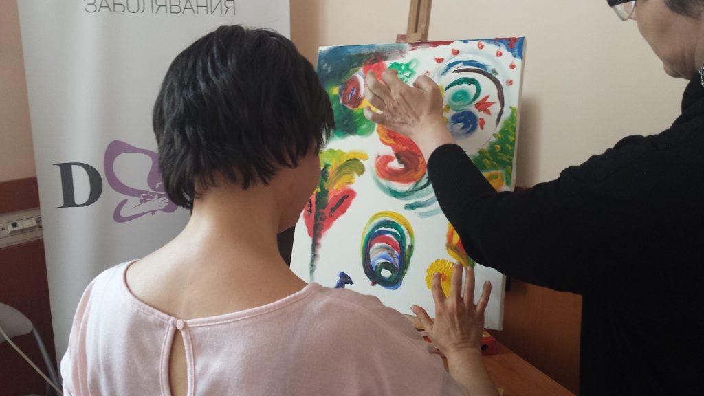 Рисувам с пръсти-1